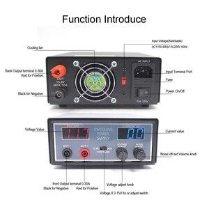 Image 4 - Anysecu высокая эффективность DC 110В/220В конвертер PS30SW VI 13,8 V 30A для мобильного радио TH 9800 KT 8900