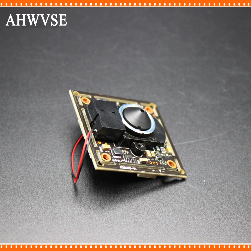 AHWVSE HD 1.0MP Video Surveillance Camera 720p AHD Camera module with Wide Angle 3.7 mm lens