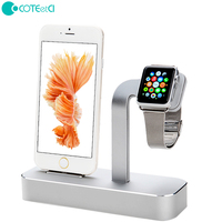For Apple Watch Stand 2 In 1 Premium Aluminum Charging Dock Station Stand Holder For Apple