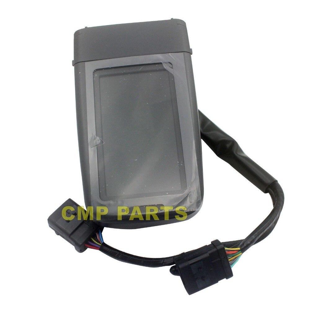 312D 320D Monitor 386-3457 227-7698 para CAT Escavadeira LCD Medidor de Painel, 1 ano de garantia