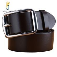 купить FAJARINA Mens Top Quality 100% Genuine Leather Retro Style Stainless Steel Pin Buckle Belts Men 3.8cm Wide Accessories N17FJ255 по цене 2878.68 рублей