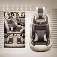 Housse de siège auto coussin de siège universel en lin style de voiture pour Skoda Octavia Fabia superbes autocollants Rapid Yeti Spaceback Joyste Jeti