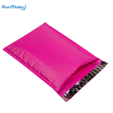 Pack of 10 8.5x11inch 238*280mm Poly Bubble Mailer Pink Self Seal Padded Envelopes