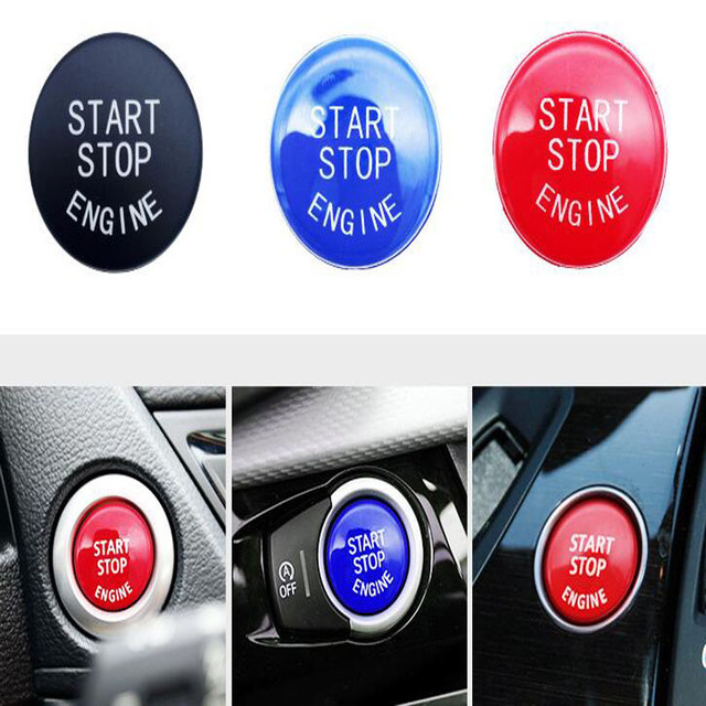 US $4 91 |YG Car Engine START Button Replace Cover STOP Switch Accessories  Key Decor for B M W X1 X5 E70 X6 E71 Z4 E89 3 5 Series E90 E91 -in Starter