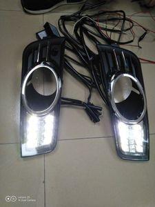 Image 1 - LED tampon far CRUZE gündüz ışık araba aksesuarları 2009 ~ 2013y DRL başkanı işık için chevrolet CRUZE fog işik