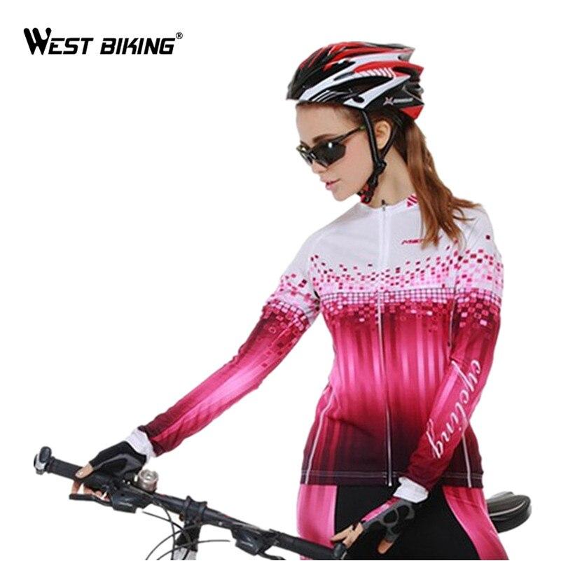 ФОТО WEST BIKING Cycling Clothing Long Sleeve Jersey Long Tight Pants Breathable Reflective Sport MTB Bike Bicycle Cycling Jersey Set