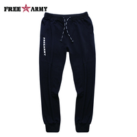 FreeArmy Brand Ladies Pants Spandex Drawstring Waist Trousers For Women Pants Casual Sweatpants Black Cotton Trousers Joggers