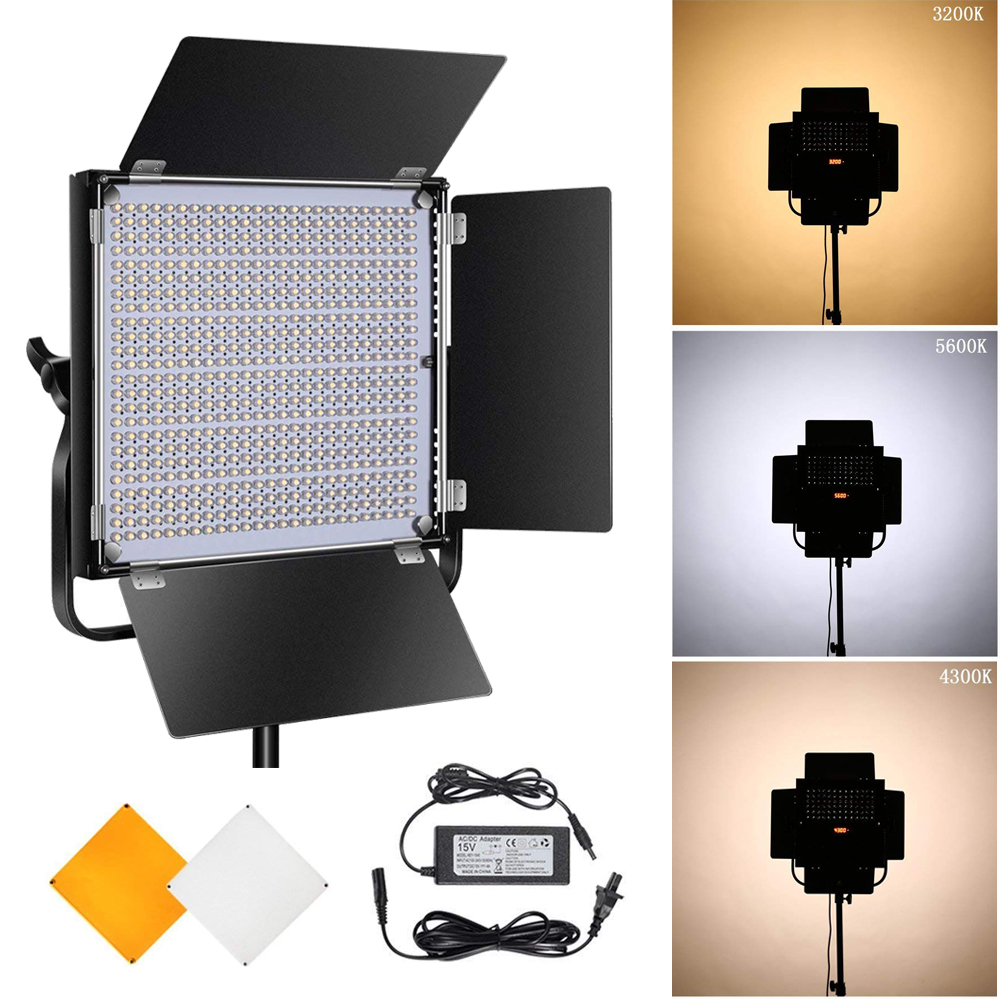 Pixel K80 Wireless LED-uri cu LED-uri 5600K cu transmisie wireless - Camera și fotografia - Fotografie 1
