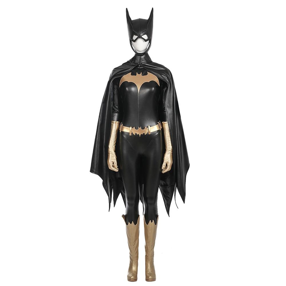 Batman Cosplay ruha Batgirl Barbara Gordon Zentai jelmez - Jelmezek