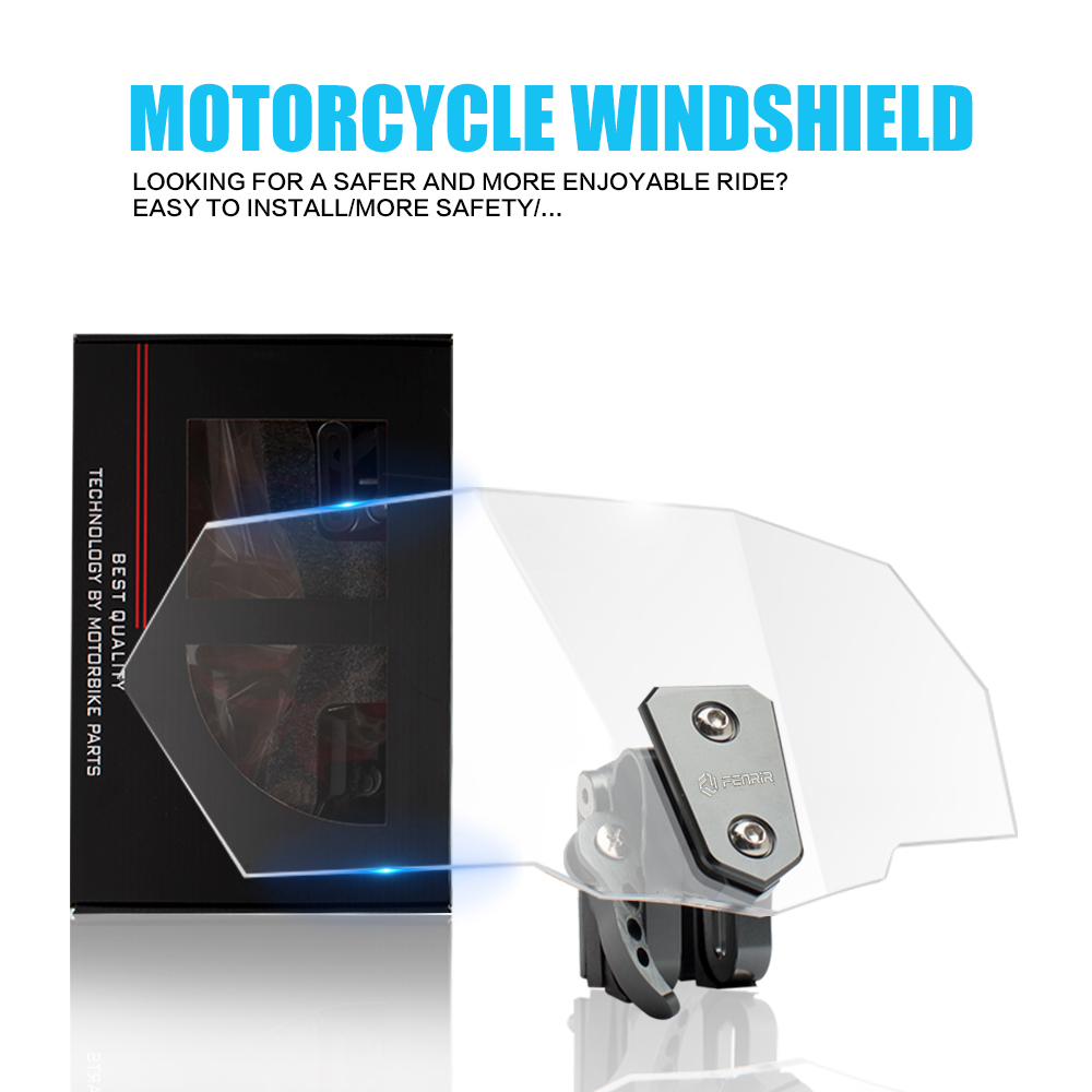 Windshield Deflector Motorcycle Windscreen for honda goldwing gl1800 s1000xr yamaha mt 03 m109r cbr 250r sv 650 bmw gs vfr 800Windshield Deflector Motorcycle Windscreen for honda goldwing gl1800 s1000xr yamaha mt 03 m109r cbr 250r sv 650 bmw gs vfr 800