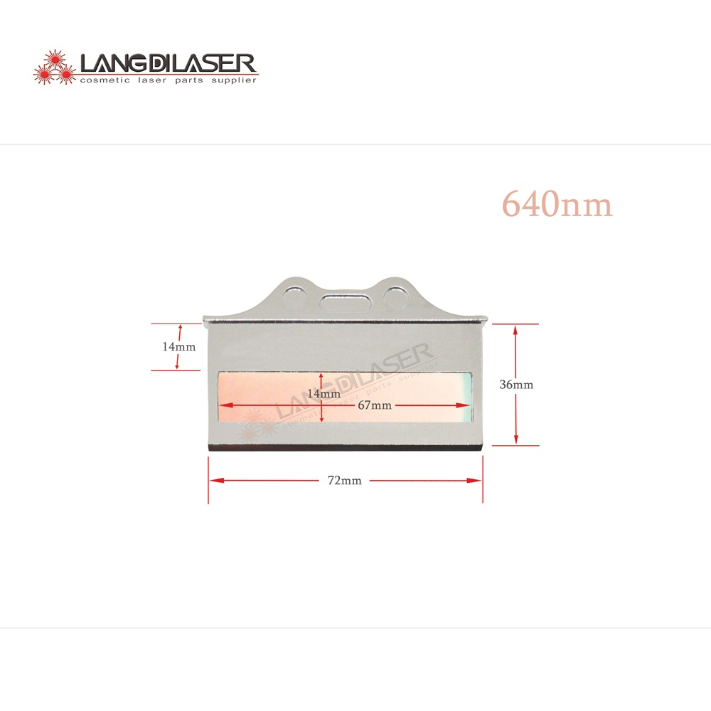 640 1200nm IPL filter 640nm filters optic filter for IPL hand piece Hair removal filter