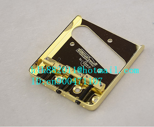 new wilkinson TL electric guitar bridge in gold L20 free shipping new single wave electric guitar wilkinson bridge wvcsb in gold 8351