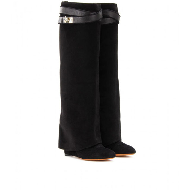 Winter boots for women over the knee