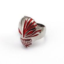 BLEACH Kurosaki Ichigo Silver Ring