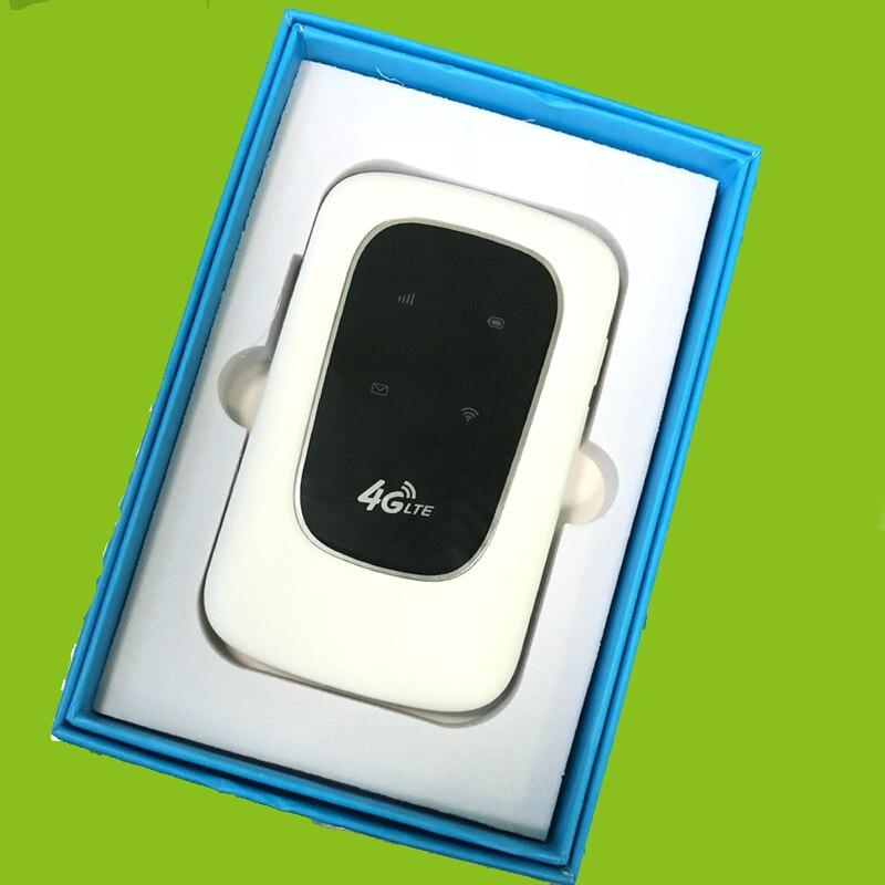 Nouveau 4g UMTS/HSPA/LTE Routeur Mobile WiFi Hotspot 4g 150 Mbps Modem Portable 3g /4g Wi-Fi Routeur Avec Sim Slot Voiture Haut Débit