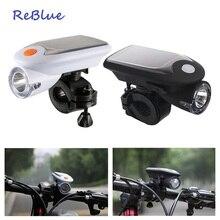 ReBlue Solar Flashlight lanterna x900 powerful flashlight linterna Mini flashlight Torch Bike Torch Hard Light recargable
