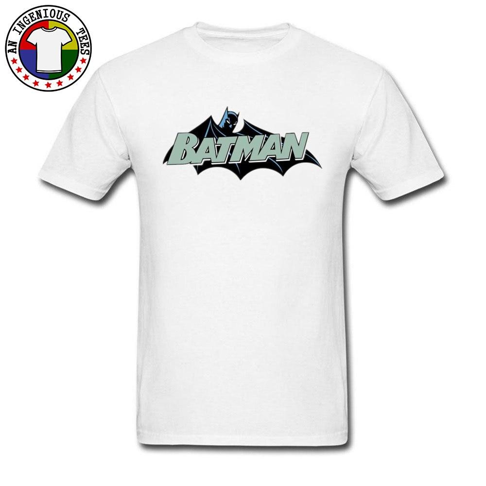 Men's Fashion Basic Tshirt Saring Batman Printing Leisure Plus Size Marvel Movie