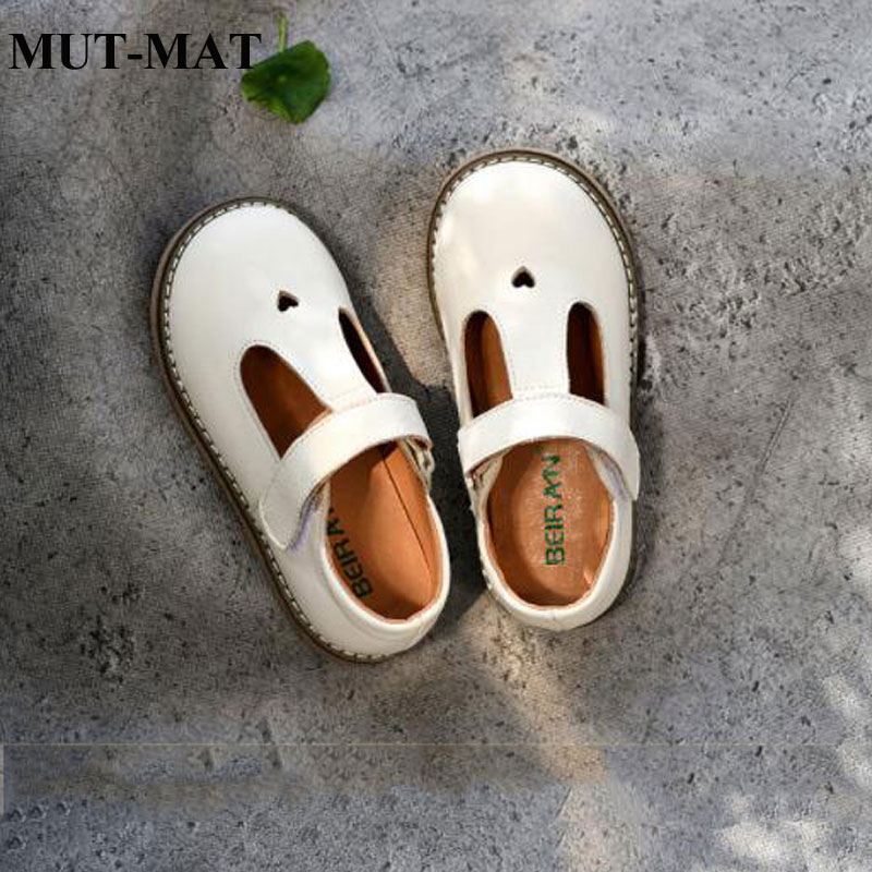 Children's Leather Shoes Spring Models 2019 New Leather Girls Single Shoes Princess Shoes Show Black Leather Shoes