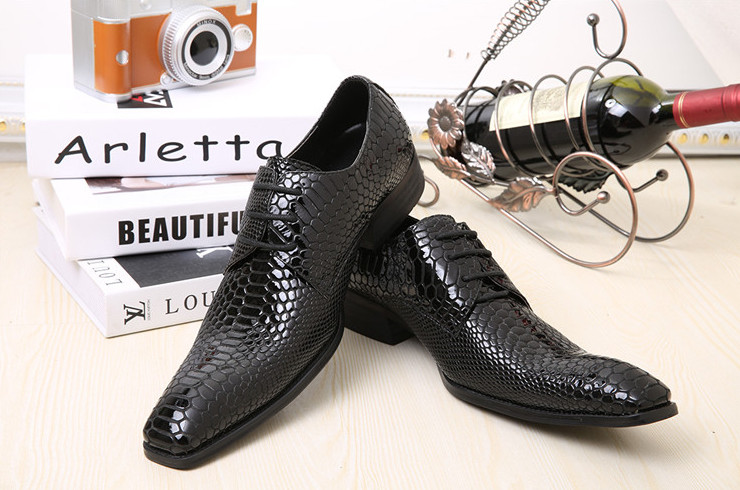 New Arrive Men Square Toes Genuine Leather Dress Shoes Men Fish Pattern Leather Business Dress Shoes Men Breathable Casual ShoesNew Arrive Men Square Toes Genuine Leather Dress Shoes Men Fish Pattern Leather Business Dress Shoes Men Breathable Casual Shoes