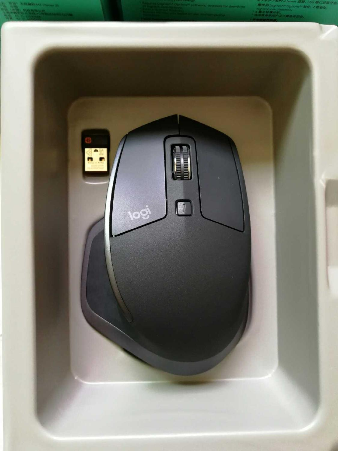 USED Logitech MX MASTER 2S Office Mouse 2.4G Wireless  Bluetooth  Multi-device Connection Fast Charging