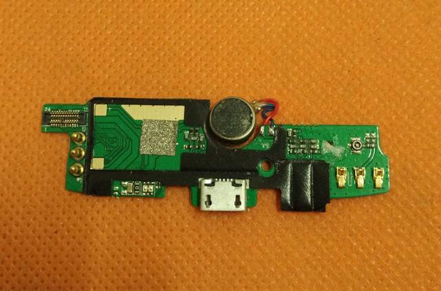 Usado Placa Original Carga Plugue USB + Microfone Para Star W900 Quad MTK6582 Núcleo 5.0 polegada Frete grátis