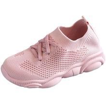2020 Spring Autumn Kids Shoes Fashion Mesh Casual Children Sneakers For Boy Girl Toddler Baby Breathable Sport Shoe cctwins kids 2018 spring boy brand sport shoe children fashion star sneaker baby girl genuine leather casual trainer fsl2227