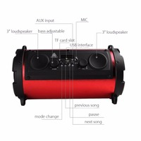 Hyleton Professional 15W 2000mAh Bluetooth Speaker Outdoor Portable Subwoofer with Mic Multifunctional Speaker for TV Smartphone 4