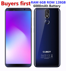 Cubot Power Android 8.1 MT6763 Octa Core Mobile Phone 2160*1080 5.99