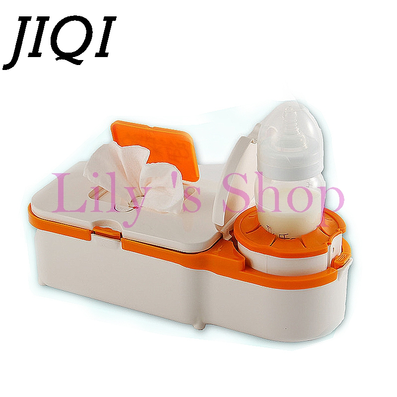 Household car use Baby wipes heater thermostat warm wet wipes machine auto heat insulation humidor box EU US plug adapter travel