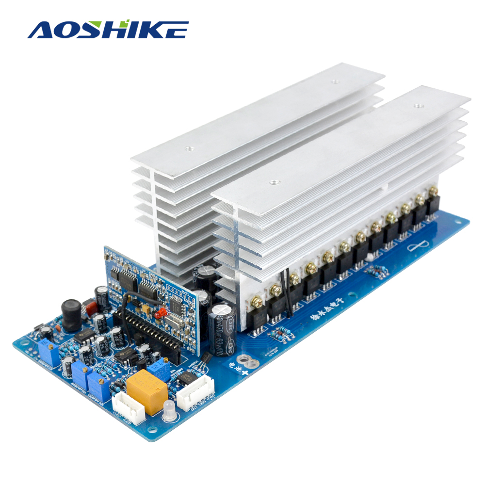 Aoshike 5000W Pure Sine Wave Inverter Board 12V 24V 36V 48V 60V 1000W 2000W 3000W 4000W Power Frequency Inverter Passing Test akg p5i