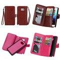 SYS-9K Роскошные Съемная PU Кожаный Бумажник Case Для Samsung Galaxy примечание 5 Note5 N9200 Крышка С Слотом для Карт Флип Телефона мешки