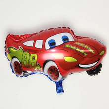 Hot Selling 66*49cm Novelty Foil and Helium Balloons Birthday Wedding Party Decoration Baloon Red Cartoon Car Balloon Funny Toys