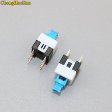 ChengHaoRan 10-50pcs 7*7mm Self lock push button switch self-locking switch push button tact swith 6pin size 7*7 стоимость