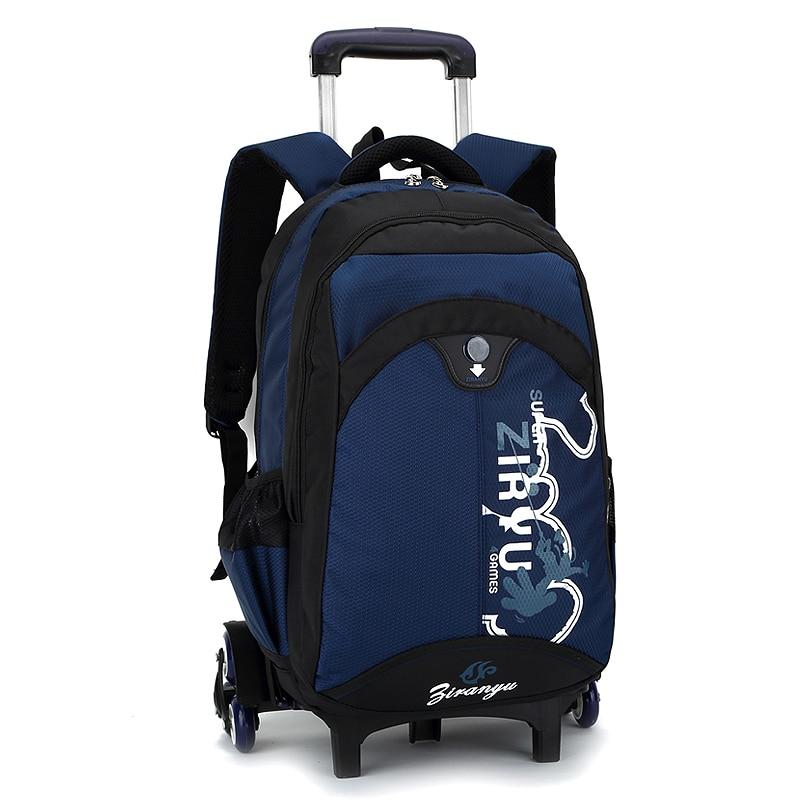 Kids Rolling Backpack Casual School Backpacks Primary School Bags For Girls Bolsa Infantil Bookbags Mochilas Escolares Backbag