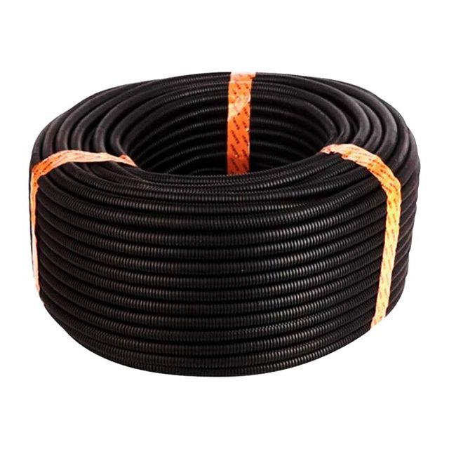 Nuevo tubo de manga polietileno corrugado con conducto telar alambre  dividido 50 pies 5/8 pulgadas