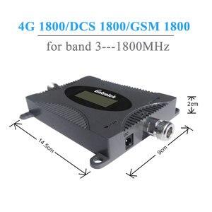 Image 5 - Lintratek 4G مكرر إشارة LTE 1800mhz مكبر صوت أحادي 65dB GSM1800 مكرر (الفرقة 3) 4G الهاتف المحمول إشارة الداعم مجموعة @ 5