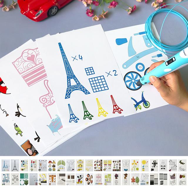 Kinder 3D stift notwendige hilfe 3D printing pen graffiti bord ...