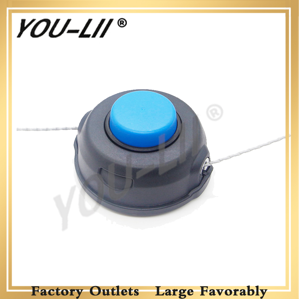 YOULII Auto Feed Tap Head Trimmer 10mm Dual Line Fit Husqvarna 225 235 Auto Feed Tap
