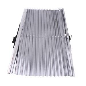 Image 2 - 46*140 センチメートル格納式車太陽断熱カーテン長さ調節可能な UV 保護ローリングカバー自動リトラクタブルカバー