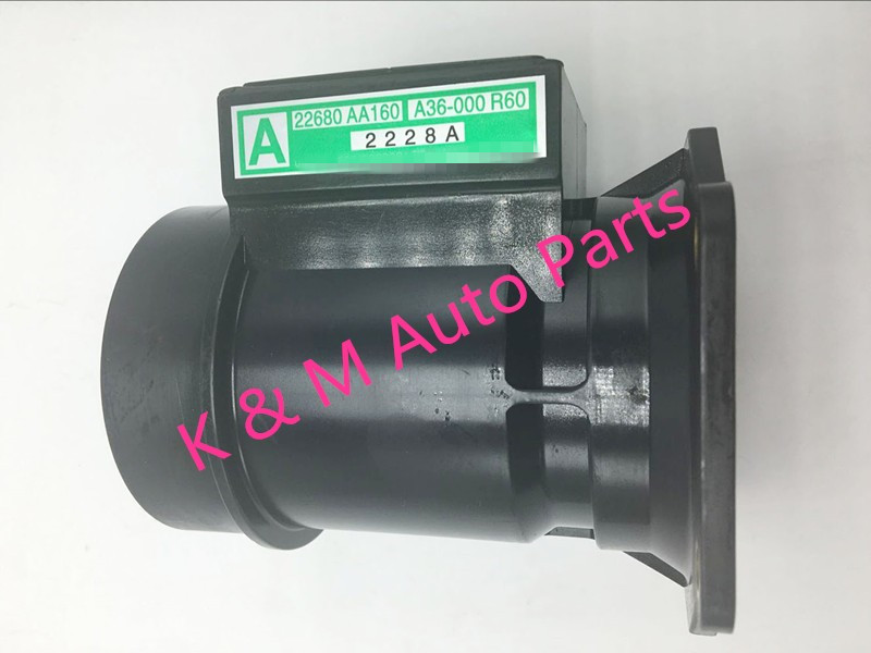 High Quality Mass Air Flow Meter Sensor 22680 AA160 22680AA160 A36 000 fit For Subaru Impreza
