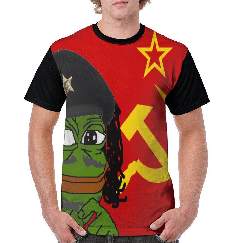 Samcustom Men T Full Printing Pepe In Thought 3d Custom Creative