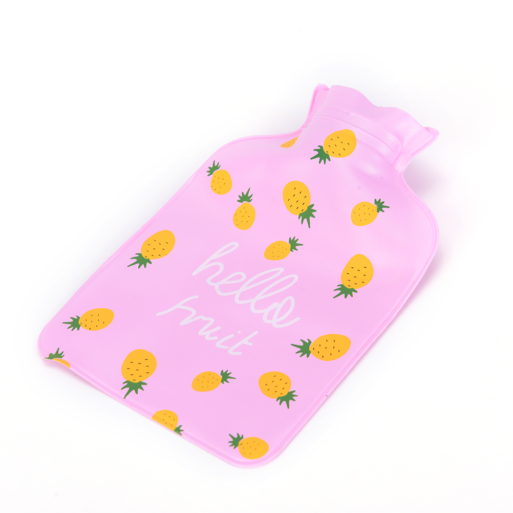 1PC Cartoon Hand Kids Warm Water Bottle Cute Mini Hot Water Bottles Small Portable Hand Warmer Water Injection Storage Bag Tools warm water bag hot water bottle warm hand po warm bao water filling small mini cute thick pvc explosion proof