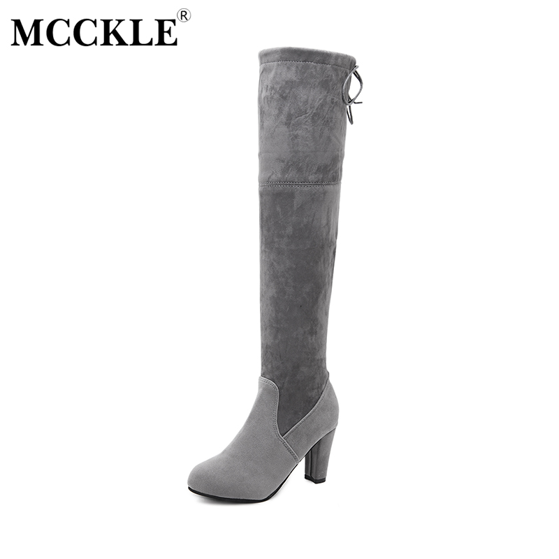 MCCKLE 2017 Fashion Women S Shoes Lace Up Comfortable Female Woman Ladies Casual Style Plus Size