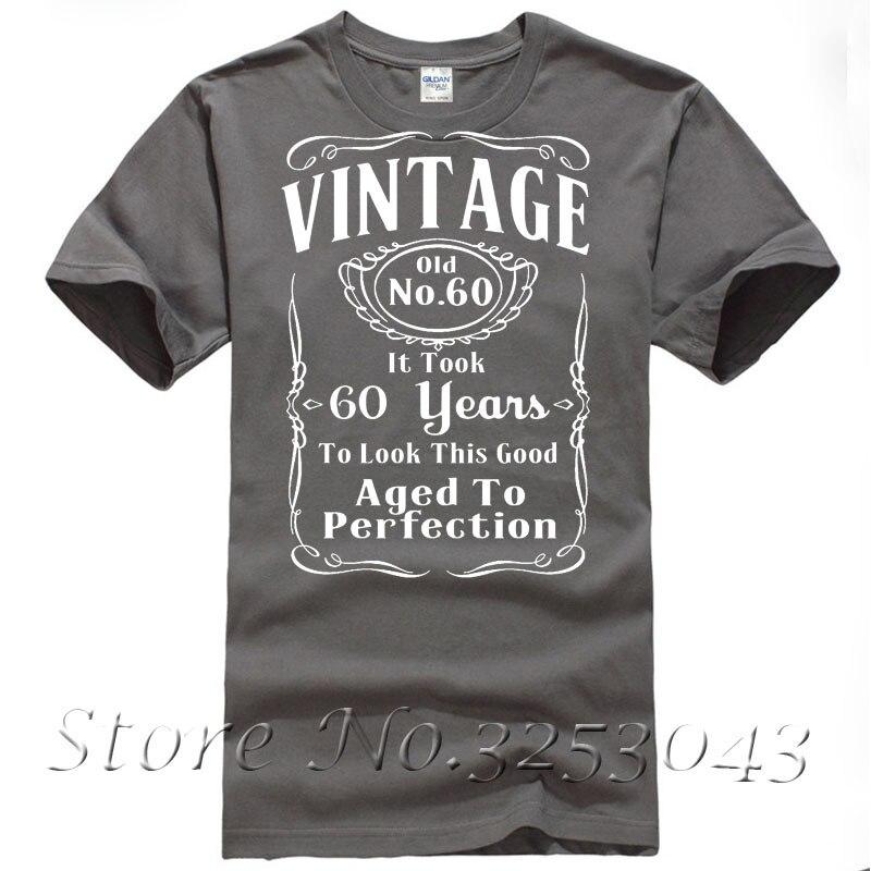 Vintage 60th Birthday T Shirt