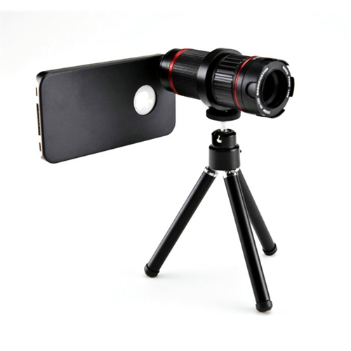 Us 45 39 4x 12x Optical Zoom Lens Telescope Camera Adjustable Focal Length Mobile Phone Lens For Iphone 6 6plus Samsung Nokia In Mobile Phone Lenses
