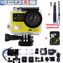 Action Camera H3 H3R Dual Screen Ultra HD Wifi 4K/25fps 1080p 170D Lens go pro Style Waterproof Extreme Sports camera