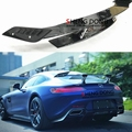 High Quality Carbon Fiber Rear Spoiler Tail Trunk Wing Car Accessories For Mercedes Benz AMG GT AMG GTS AMG GTR Spoiler