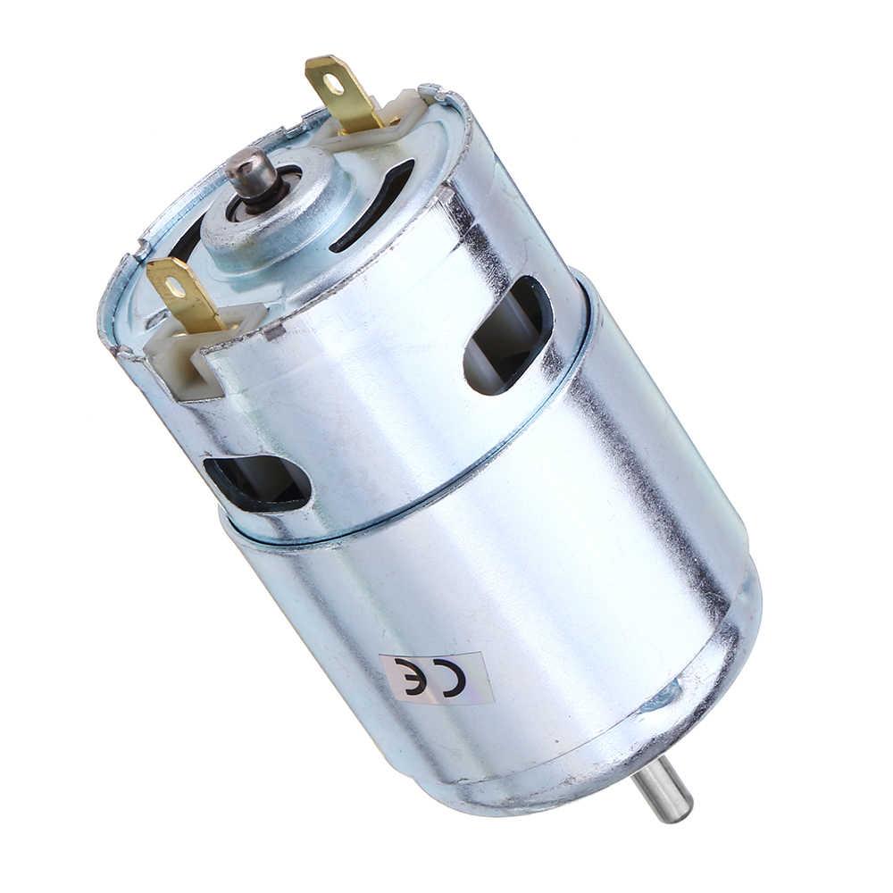 775/ 795 /895 موتور تروس/موتور قوس تيار مستمر 12 فولت-24 فولت 3000-12000 دورة في الدقيقة موتور كبير عزم دوران موتور تروس