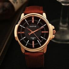 hot deal buy men's premium quartz watches fashion casual men's watches classic leather business watch sale
