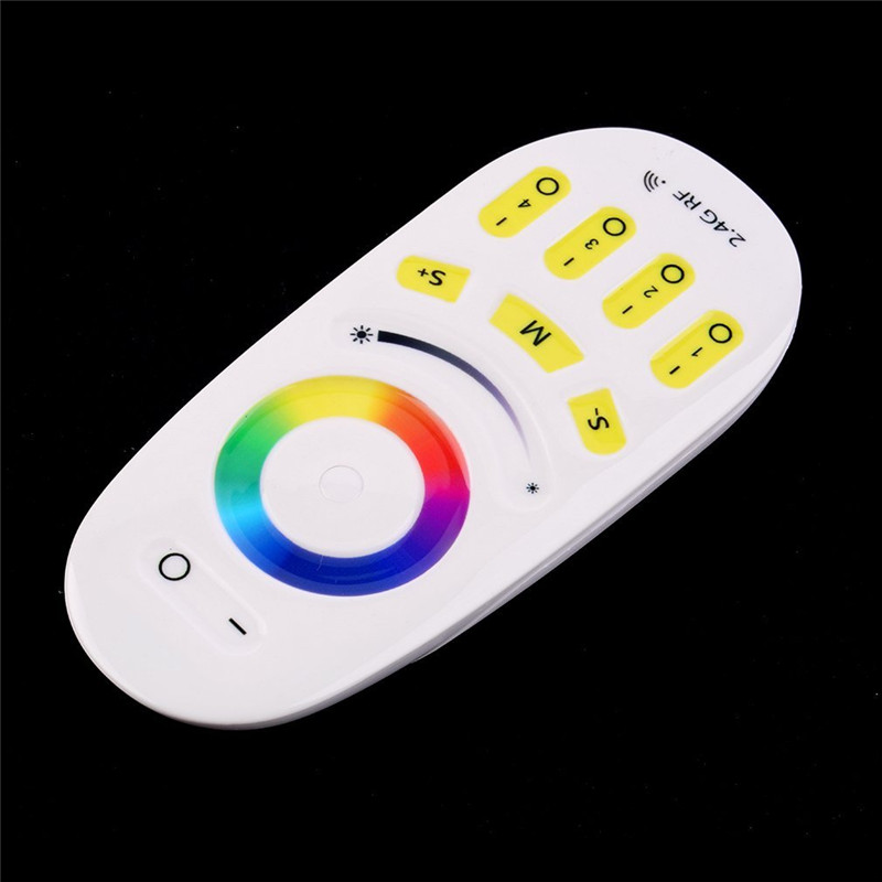 Fashion Mi.light 2.4G RGBW remote controller for Bulb&led strip lamp Wireless RF Controller Touch screen use with RGBW wifi Rece